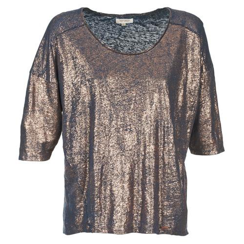 Kleidung Damen T-Shirts Miss Sixty FOX Marine / Gold