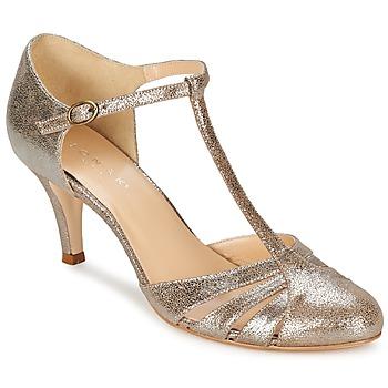 Schuhe Damen Pumps Jonak LAURAIA Goldfarben / Maulwurf