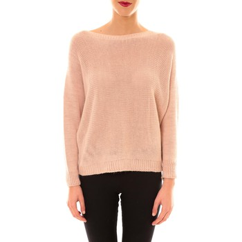 Kleidung Damen Pullover De Fil En Aiguille Pull Galina rose Rose