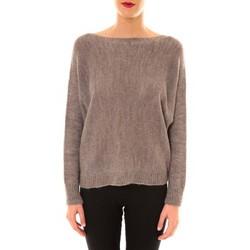 Kleidung Damen Pullover De Fil En Aiguille Pull Galina taupe Braun