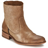 Schuhe Damen Boots n.d.c. SANDRINE SOFTY BRILLO Goldfarben