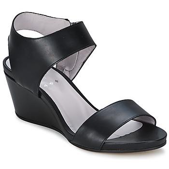 Schuhe Damen Sandalen / Sandaletten Perlato SELCETTA Schwarz