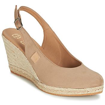 Schuhe Damen Sandalen / Sandaletten Betty London TECHNO Beige