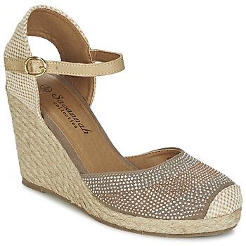 Schuhe Damen Sandalen / Sandaletten Spot on BERZI Maulwurf