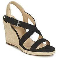 Schuhe Damen Sandalen / Sandaletten Jonak AQUAL Schwarz