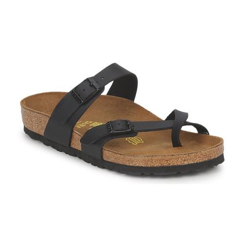 Schuhe Damen Pantoffel Birkenstock MAYARI Schwarz