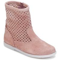 Schuhe Mädchen Boots Citrouille et Compagnie BOREAL Rose