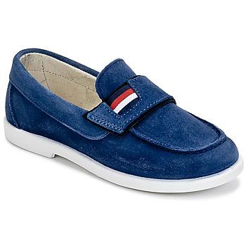Schuhe Jungen Slipper Citrouille et Compagnie LILMOUSSE Blau / Marine