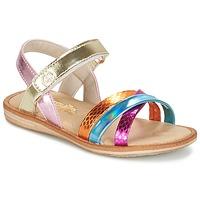 Schuhe Mädchen Sandalen / Sandaletten Citrouille et Compagnie MINIRAVI Multifarben