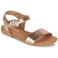 Schuhe Mädchen Sandalen / Sandaletten Citrouille et Compagnie JOUBI Kupfer