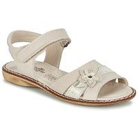 Schuhe Mädchen Sandalen / Sandaletten Citrouille et Compagnie ANDALIA Beige