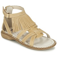 Schuhe Mädchen Sandalen / Sandaletten Citrouille et Compagnie CONQUITA Beige