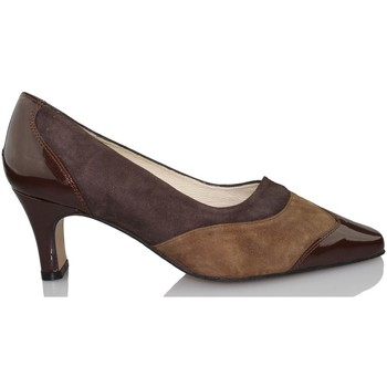 Schuhe Damen Pumps Sana Pies SANAPIES CHAROL MOKA BRAUN