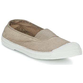 Schuhe Damen Sneaker Low Bensimon TENNIS ELASTIQUE Beige