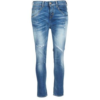 Kleidung Damen Straight Leg Jeans Meltin'pot LEIA Blau