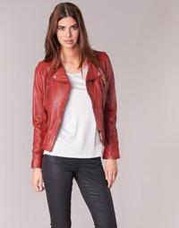 Kleidung Damen Lederjacken / Kunstlederjacken Oakwood 60861 Rot