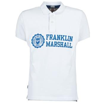 Kleidung Herren Polohemden Franklin & Marshall AYLEN Weiss