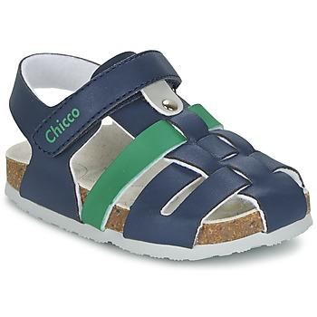Schuhe Jungen Sandalen / Sandaletten Chicco HAMBRO Marine
