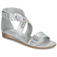 Schuhe Mädchen Sandalen / Sandaletten Mod'8 JOYCE Silbern