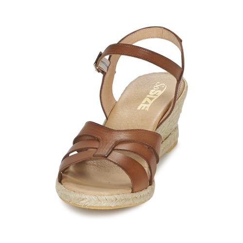 So Size ELIZA ELIZA ELIZA Braun  Schuhe Sandalen / Sandaletten Damen 59,50 766d57