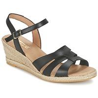 Schuhe Damen Sandalen / Sandaletten So Size ELIZA Schwarz