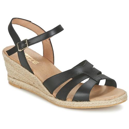 So Size ELIZA Schwarz  Schuhe Sandalen / Sandaletten Damen 67,99