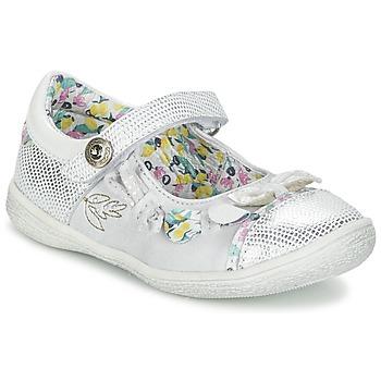 Schuhe Mädchen Ballerinas Catimini COLIBRI Silbern
