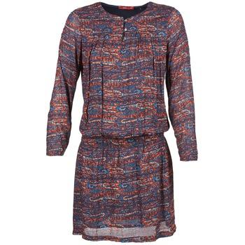 Kleidung Damen Kurze Kleider Esprit AGAROZA Marine / Multifarben