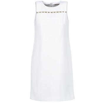 Kleidung Damen Kurze Kleider MICHAEL Michael Kors MS68W2L3GZ Weiss