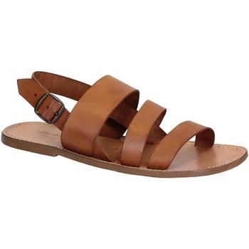 Schuhe Herren Sandalen / Sandaletten Gianluca - L'artigiano Del Cuoio 507 U CUOIO CUOIO Cuoio