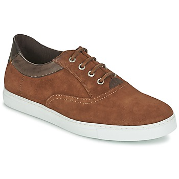 Schuhe Herren Sneaker Low Casual Attitude DIMO Braun
