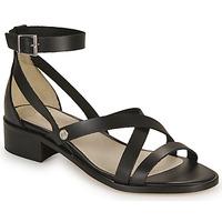 Schuhe Damen Sandalen / Sandaletten Casual Attitude COUTIL Schwarz