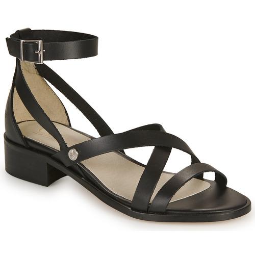 Casual Attitude COUTIL Schwarz  Schuhe Sandalen / Sandaletten Damen 51,99