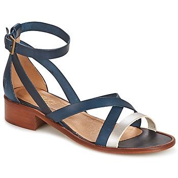 Schuhe Damen Sandalen / Sandaletten Casual Attitude COUTIL Blau