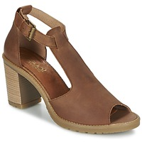 Schuhe Damen Sandalen / Sandaletten Casual Attitude GUIGNET Camel