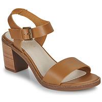 Schuhe Damen Sandalen / Sandaletten Casual Attitude CAILLE Camel