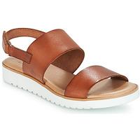 Schuhe Damen Sandalen / Sandaletten Casual Attitude FULIGULE Camel