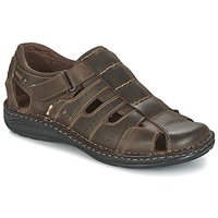 Schuhe Herren Sandalen / Sandaletten Casual Attitude ZIRONDEL Braun
