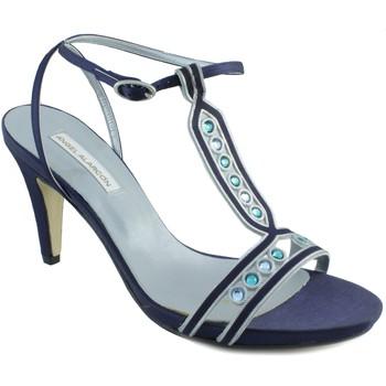 Schuhe Damen Sandalen / Sandaletten Angel Alarcon ANG ALARCON OPORTO BLAU