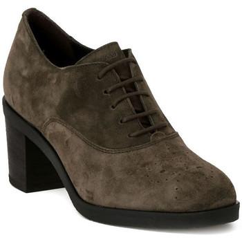 Schuhe Damen Richelieu Frau SOFTY VISONE Marrone