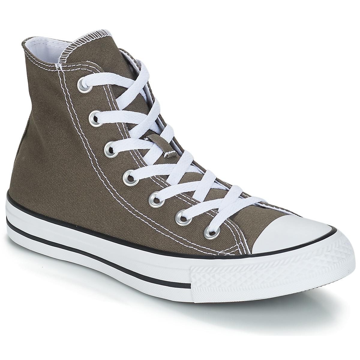 Converse CHUCK TAYLOR ALL STAR SEAS HI Anthrazit - Kostenloser Versand bei Spartoode ! - Schuhe Sneaker High  55,99 €