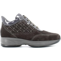 Schuhe Damen Sneaker High Keys 8038 Shoes with laces Frauen Smog