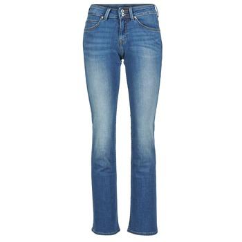 Kleidung Damen Bootcut Jeans Lee JOLIET Blau