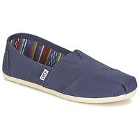 Schuhe Damen Slip on Toms CLASSICS Marine