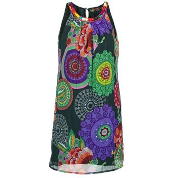 Kleidung Damen Kurze Kleider Desigual ESTOLE Multifarben