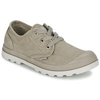 Schuhe Damen Sneaker Low Palladium US OXFORD Grau