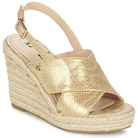 Schuhe Damen Sandalen / Sandaletten Elle CAMPO Beige / Gold