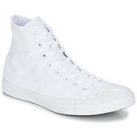 Schuhe Sneaker High Converse CHUCK TAYLOR ALL STAR MONO HI Weiss
