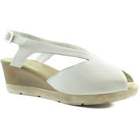 Schuhe Damen Sandalen / Sandaletten Montesinos komfortable anatomische Sandale BEIGE