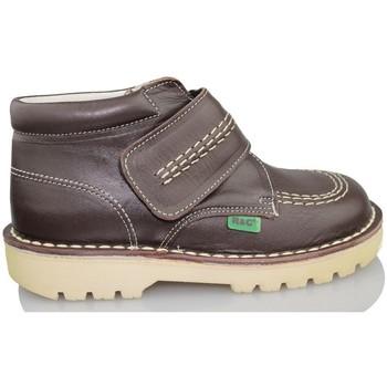 Schuhe Kinder Sneaker High Rubio Y Castaño RUBIO Y CASTANO NAPA BRAUN